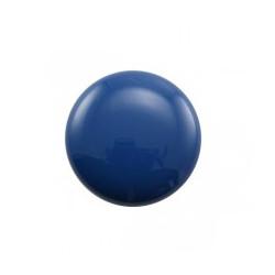 Cabochon rond Galastyl 24X7mm Turquoise Foncé (X1)