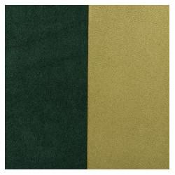 Ultra-Suède Green réversible 20X25cm(X1)