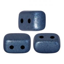 "Perles ""Ios®"" par Puca® 5,5X2,5mm Metallic Mat Dark Blue (x3gr)"