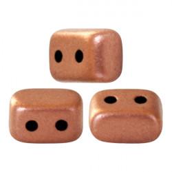 """Perles """"Ios®"""" par Puca® 5,5X2,5mm Copper Gold Mat (x5gr)"""