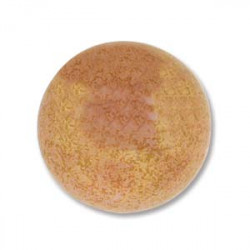 Cabochon Round 24mm Pink Coral Luminous (x1)