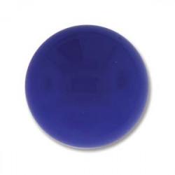 Cabochon Round 18mm Lapis Opaque (x1)