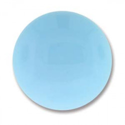 Cabochon Round 18mm Turquoise Blue (x1)