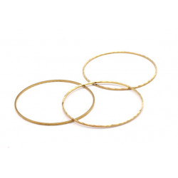Support Rond Striee Laiton 50mm (x1)