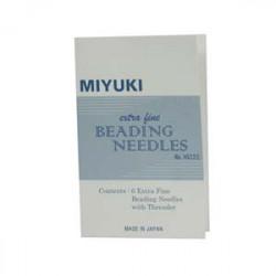 Aiguilles Miyuki Extra fine (X1)