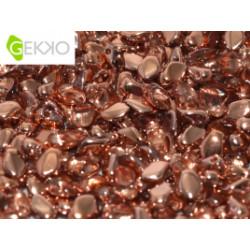 GEKKO 3 X 5 MM CRISTAL CAPRI GOLD (X5gr)