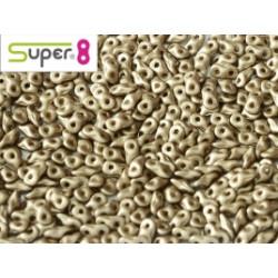 Perles Super 8® Albatre Light Brown 29416 2,2x4,7mm (x5gr)