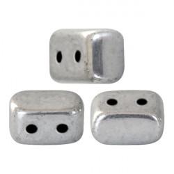 """Perles """"Ios®"""" par Puca® 5,5X2,5mm Argentées Silver (x5gr)"""