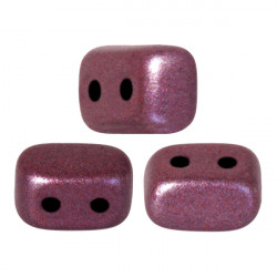"Perles ""Ios®"" par Puca® 5,5X2,5mm Metallic Mat Dark Violet (x5gr)"