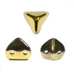 Perles en verre Super-Khéops® par Puca® 6 mm Full Dorado (x5g)