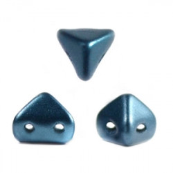 Perles en verre Super-Khéops® par Puca® 6 mm Pastel Petrol (x5g)
