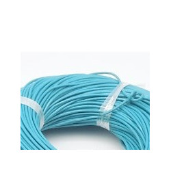 Cuir Turquoise 1,5mm(X1m)