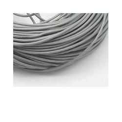 Cuir Gris 1,5mm (X1m)