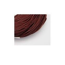 Cuir Dark Red 1,5mm (X1m)