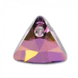 Perle Swarovski 6628 Triangle Lilac Schadow Pendant Xillion 8mm (X1)