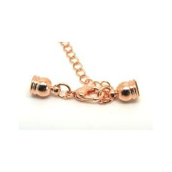 Embout Chaine Rose Gold 31X3mm (X1)