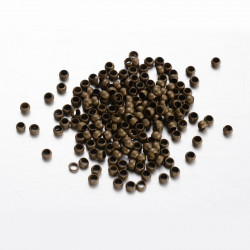 Perles à écraser Bronze 3mm (x1gr)