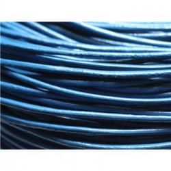 Cuir Bleu 2mm (X1m)