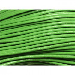 Cuir Vert Sapin 2mm (X1m) attention photo non contractuelle