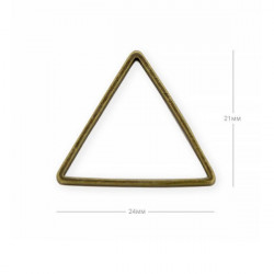 Support Triangle Bronze 24mm (x1)