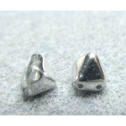 Perles Pyramides 6X6mm Crystal Labrador (x100)