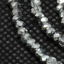 Perles Rondes Aplaties en Cristal de Chine 2.5x2mm Comet (x1fil)