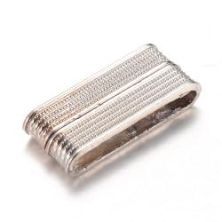 Fermoir Magnétique Vieil Argent 37X19X7mm (x1)