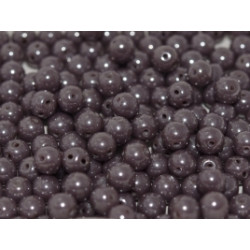 Perles RounDuo Lilac Shimmer 5mm (X20)