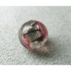 Perle à la lampe boule 10mm - Cristal Gris (x1)