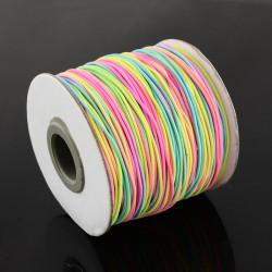 Cordon Polyamide élastique 1mm Multicouleur (x1m)