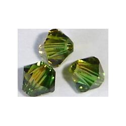 Toupie 5328 xilion 6mm Green Topaz Blend (x1)