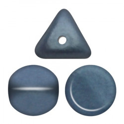 Perles Ilos® par Puca® 5x7mm Metallic Mat Blue (x5gr)