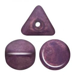 Perles Ilos® par Puca® 5x7mm Metallic Mat Dark Violet (x5gr)