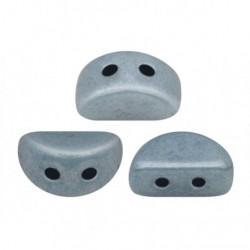 Perles Kos® par Puca® 3x6mm Opaque Blue Ceramic Look (x5gr)