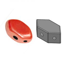 Perles Paros® par Puca® 4x7mm Opaque Light Coral Luster (x5g)