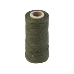 Cordon Polyester Kaki 0.5mm (X1m)
