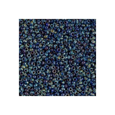 R11-4518 Rocailles 11/0 Picasso Opaque Cobalt (x10gr)