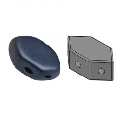Perles Paros® par Puca® 4x7mm Metallic Mat Dark Blue (x5g)
