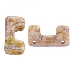 Perles Télos® par Puca® Opaque Mix Rose Gold Ceramic Look (X5gr)