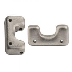 Perles Télos® par Puca® Metallic Mat Beige (X5gr)