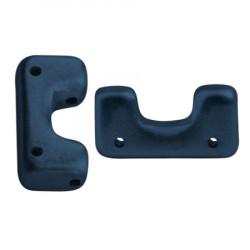 Perles Télos® par Puca® Metallic Mat Dark Blue (X5gr)
