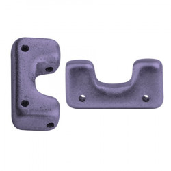 Perles Télos® par Puca® Metallic Mat Purple (X5gr)