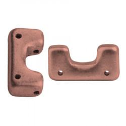 Perles Télos® par Puca® Copper Gold Mat (X5gr)