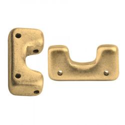 Perles Télos® par Puca® Light Gold Mat (X5gr)