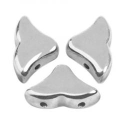 Perles Hélios® par Puca® 5x7mm Argentées Silver (x5gr)