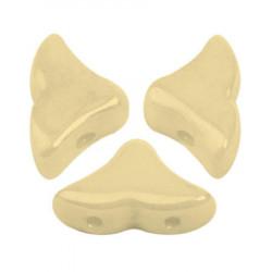 Perles Hélios® par Puca® 5x7mm Opaque Beige Ceramic Look (x5gr)