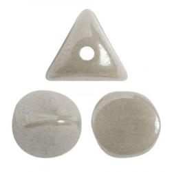 Perles Ilos® par Puca® 5x7mm Opaque Grey Luster (x5gr)