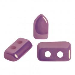 Perles Piros ® par Puca® Opaque Mix Amethyst Gold Ceramic Look (X5gr)