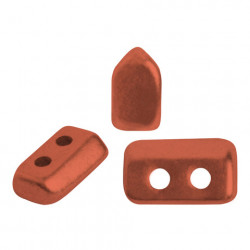 Perles Piros ® par Puca® Bronze Red Mat (X5gr)