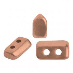Perles Piros ® par Puca® Copper Gold Mat (X5gr)